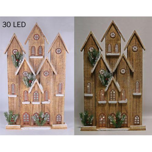 Drevený Dom, 30 LED