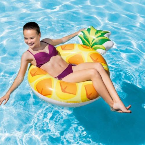 INTEX 56266 Nafukovací kruh ananas 114 x 86cm