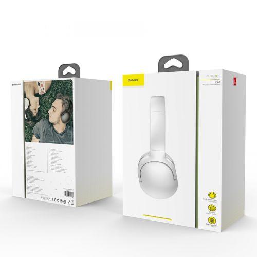 Baseus Headphone Wireless Encok D02 White (NGD02-02)