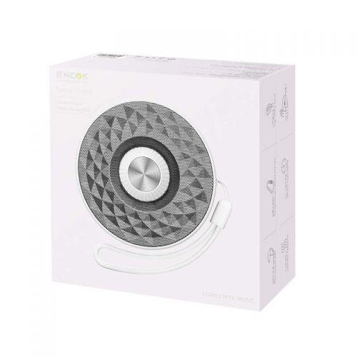 Baseus Speaker Bluetooth Lanyard E03 Outdoor Silver/White (NGE03-S2)