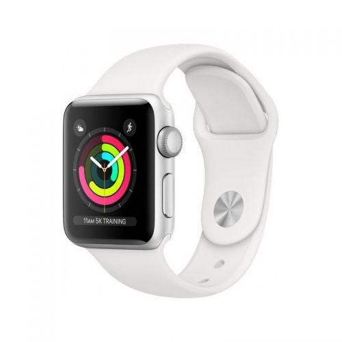 Apple Watch Series 3 42mm Silver white White sport band EU MTF22 EU