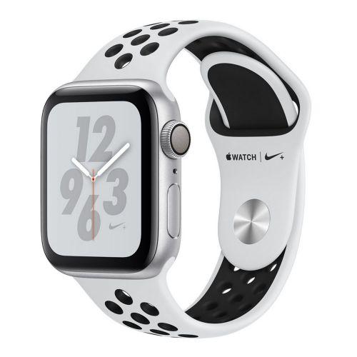 Apple Watch Series 4 40mm Silver with Alu Black Nike sport loop MU6H2 EU