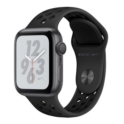 Apple Watch Series 4 40mm Space Gray with alu black Nike sport loop MU6J2 EU