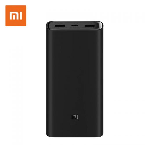 Xiaomi Mi Power Bank 3 PRO 20.000 mAh Black EU PLM07ZM