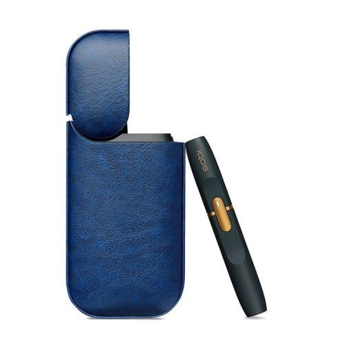 Kožené púzdro na IQOS-modré (A3)