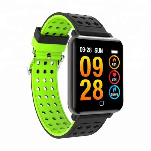 Smart Watch M19 (sportové hodinky) zelené